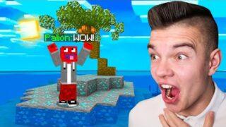 ODKRYŁEM DIAMENTOWĄ BEZLUDNĄ WYSPĘ w Minecraft!