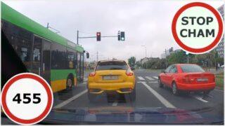 Stop Cham #455 – Niebezpieczne i chamskie sytuacje na drogach